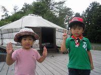 初キャンプ(●^o^●)