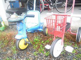 謎の三輪車
