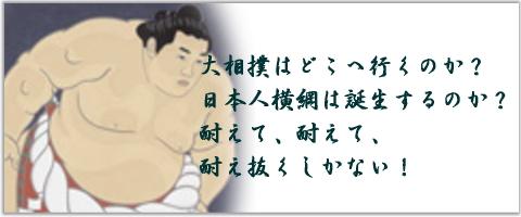 あぁ、大相撲よ!