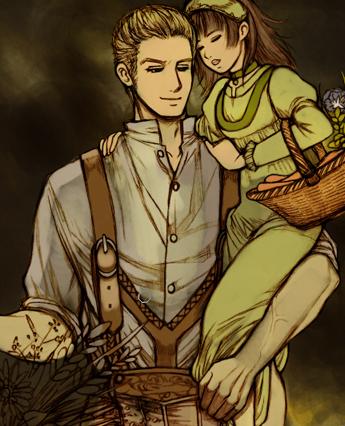 【ヘタリア】少女を抱くルートヴィッヒ