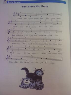 Black Cat Song