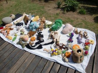 おもちゃの山