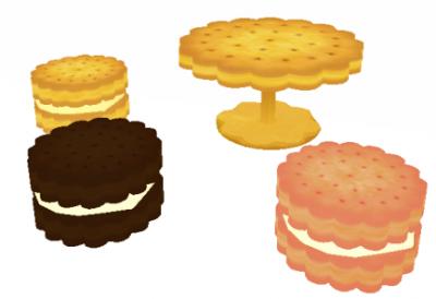 お菓子家具