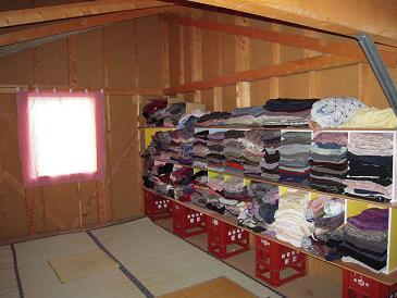 呼布の部屋 着物収納