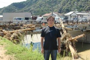 台風12号那智川
