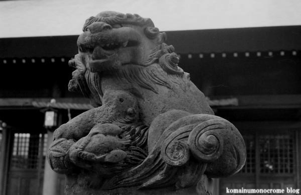 六所神社(世田谷区給田)1