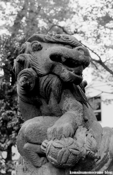 六所神社(世田谷区給田)2
