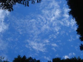 10月の雲4