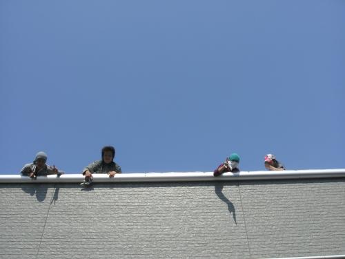 mini_一宮市 車(ディラー様) 屋根遮熱(ミラクール) 011