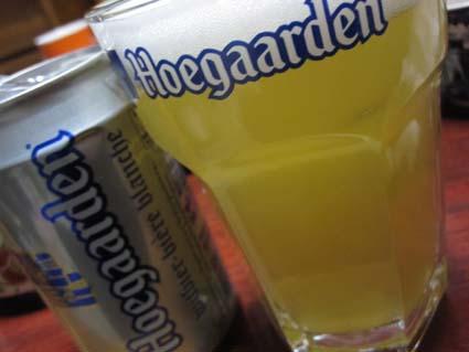 Hoegaardenの缶