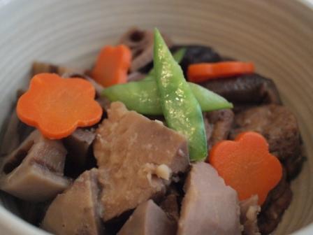 タロイモ山の煮物2
