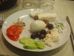 トルコ(1)朝食