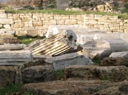 トルコトロイ遺跡