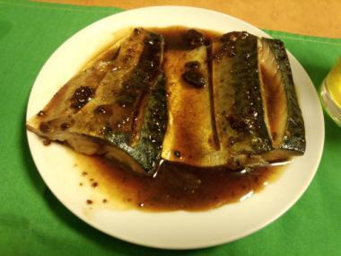 サバ味噌煮3