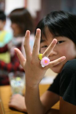 【おもちゃ時間】お菓子の指輪
