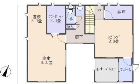 平面図(2階)