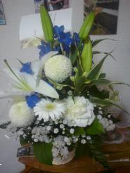 長女の親友からのお花
