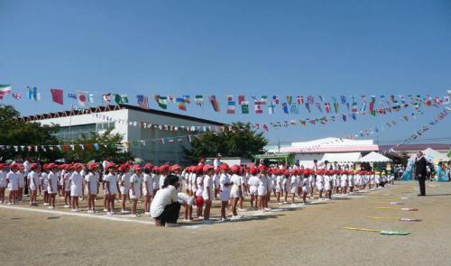 運動会2009ー01開会式
