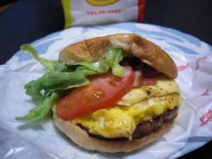 ヒカリハンバーガー