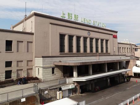 上野駅の時計1