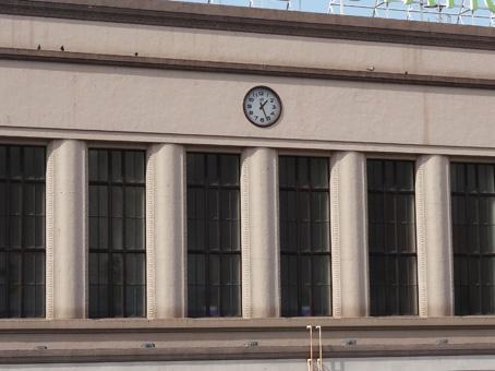 上野駅の時計2