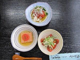 トマト懐石1