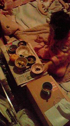 インフル食事 (1)