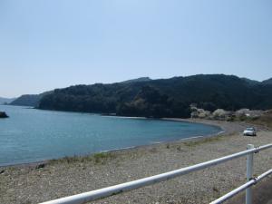 三野瀬の海岸