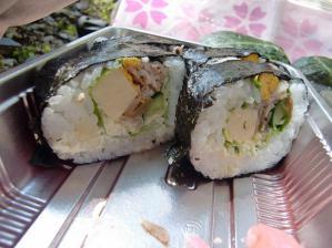 イノブタの巻寿司