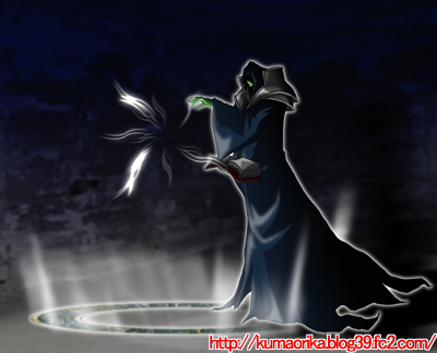 黒魔術の魔法陣イラスト