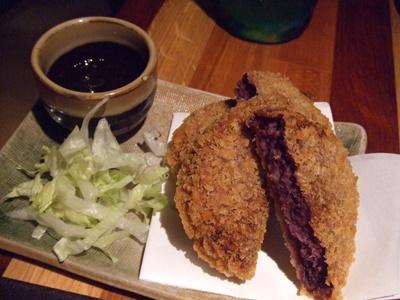 沖縄ダイニング ちゅらり 恵比寿店  紅芋コロッケ