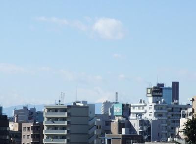 2日西郷山公園から富士山