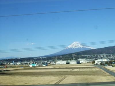 2日新幹線から富士山3