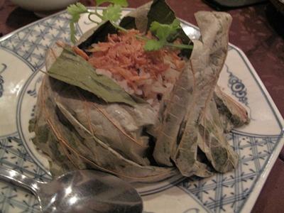 恵比寿 Nha Viet Nam ヴェトナム館 (ニャーベトナム) 蒸しごはん