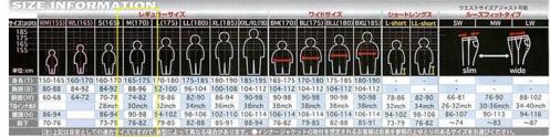 ラフ&ロードサイズ表記