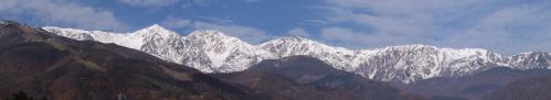 白馬の冬山1