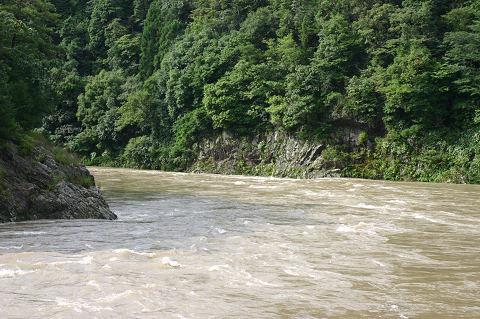 本日の土岐川