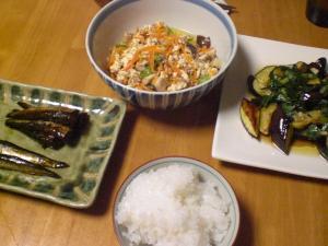 炒り豆腐他