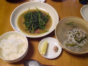 レンコンとスペアリブのスープ