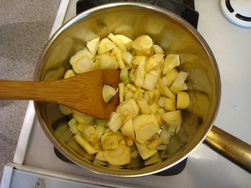 パースニップ・スープ