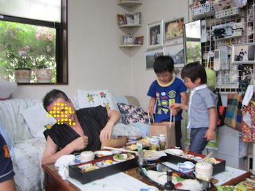 2011.6.12プレゼント贈呈1