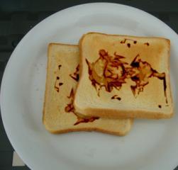 みすちー朝食
