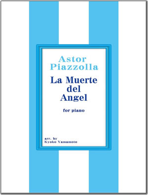 la muerte del angel for piano