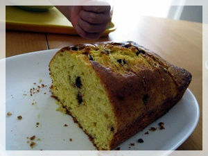 IMG_6719チョコチップ入りパウンドケーキ