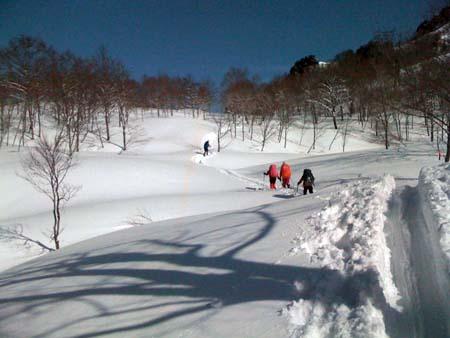 13 雪のヤッホー平を越え