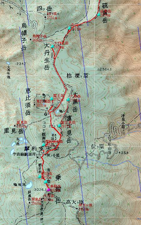 20100918乗鞍鉢盛地図2