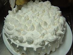 クリスマスケーキ・豆乳クリーム