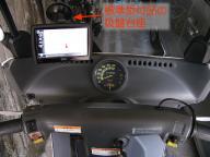 ジャイロキャノピーのスクリーンにDTX-N600を装着