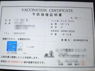 2010ワクチン