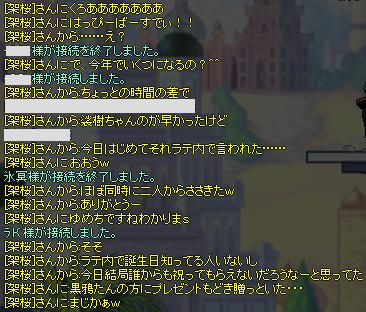 おめでとう☆